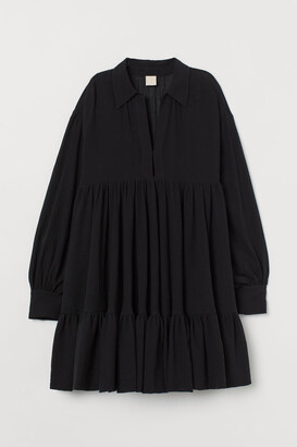 H&M Voluminous Tunic - Black