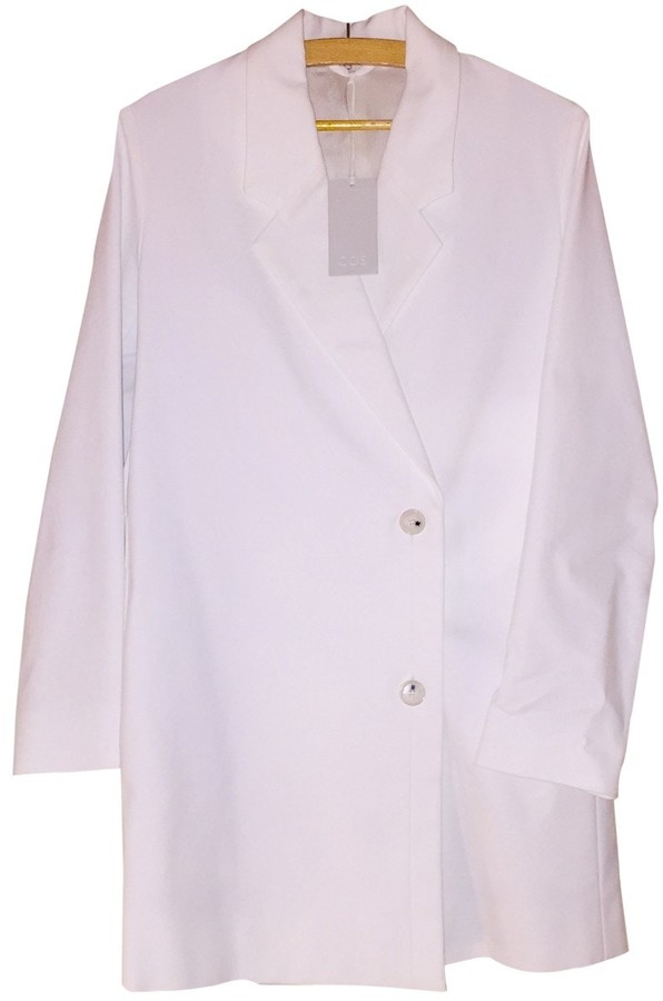 Cos \N White Cotton Jacket for Women