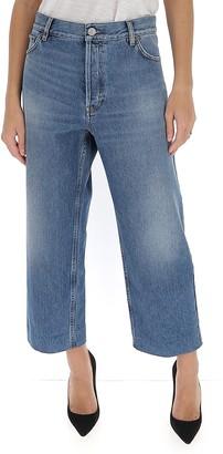 Balenciaga Cropped Denim Jeans