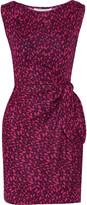 Diane von Furstenberg Della printed silk-jersey dress