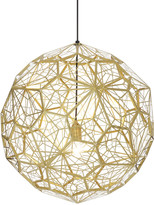 Tom Dixon Etch Web Pendant Light - Brass
