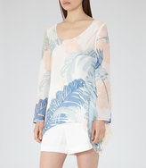 Reiss Silvi Printed Top