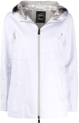 Herno Hooded Double-Slider Zip Coat