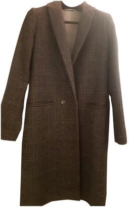 Chloé Stora Grey Wool Coat for Women