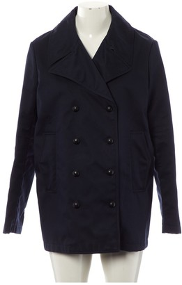 Christian Dior Navy Cotton Coat for Women