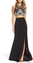 Xscape Evenings Women's Embellished Two-Piece Gown