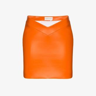 ALEKSANDRE AKHALKATSISHVILI V-waist mini skirt