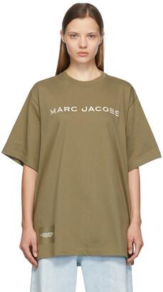 Marc Jacobs Tan 'The Big' T-Shirt