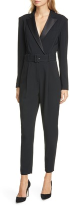 A.L.C. Killian Belted Tapered Jumpsuit