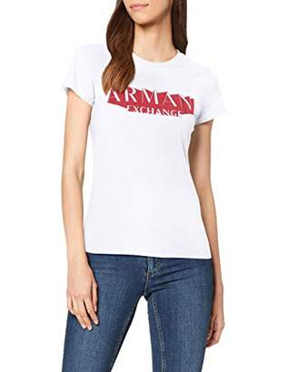 Armani Exchange A|X Women's Short Sleeved T-Shirt with Graphic