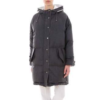 Brunello Cucinelli Padded Hooded Coat