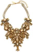 Oscar de la Renta Women's Braided Bib Necklace