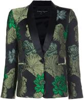 Christian Pellizzari jacquard smoking jacket