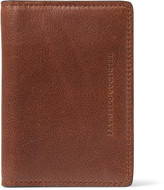 Brunello Cucinelli - Textured-leather Bifold Cardholder