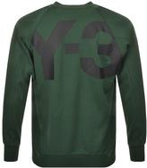 Y-3 Y3 Classic Sweatshirt Jumper Green