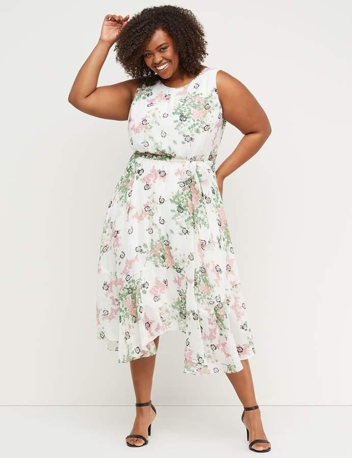 5603e88ab1c7 Lane Bryant White Plus Size Dresses - ShopStyle