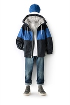 Country Road Spliced Jacket