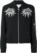 Carven floral detail bomber jacket