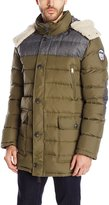 Pajar Men's Wade Down Parka with Sherpa Trimmed Hood