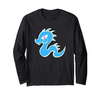 Dragon Optical Cute Magical Light Long Sleeve T-Shirt