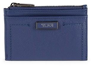 Tumi Leather Zip Card Case