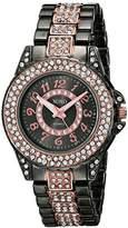 XOXO Women's XO5750 Analog Display Analog Quartz Two Tone Watch