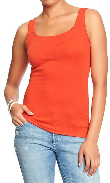 Old Navy Women's Perfect Pop-Color Tanks