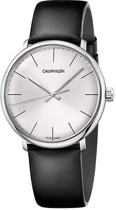 Calvin Klein High Noon Watch - K8M211C6 (Silver/Black) Watches
