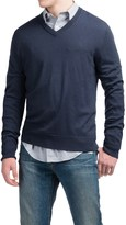 Cullen C89men Lightweight Merino Wool Sweater - V-Neck (For Men)
