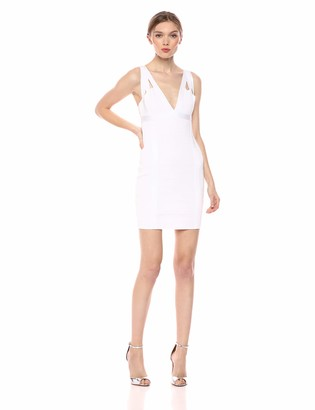 GUESS Women's Sleeveless Mirage Strappy Cutout Dress