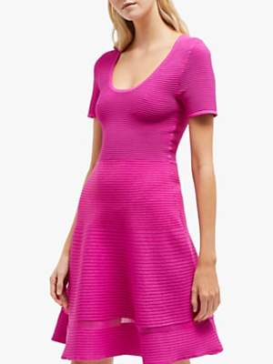 French Connection Voletta Dress, Pure Passion