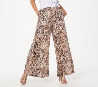 Haute Hippie Tribe 'Lillian' Striped Gauze Pull-On Pant