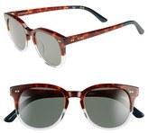 Toms Women's 'Dodoma' Polarized 51Mm Sunglasses - Tortoise Crystal/ Grey Polar