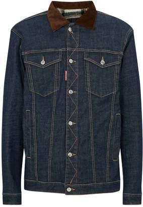 DSQUARED2 Fleece-Lined Denim Jacket