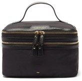 Thumbnail for your product : Anya Hindmarch Vanity Kit Recycled-fibre Vanity Case - Black