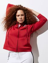 Lane Bryant Zip-Up Hoodie by GLAMOUR X