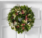 Pottery Barn Live Pink Sensation Wreath