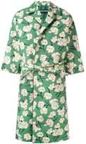 Rochas belted floral coat