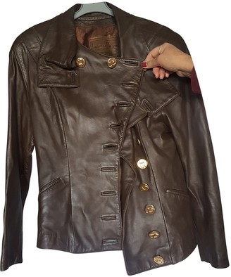 Jitrois Brown Leather Jackets