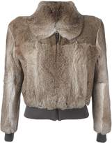 J.W.Anderson elastic waistband cropped jacket
