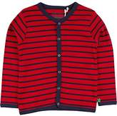 Fred's World by Green Cotton Boy's Stripe Cardigan
