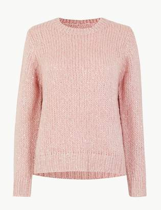 Marks and Spencer Sequin Jumper