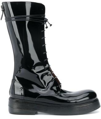 Marsèll Mid-Calf Lace-Up Boots