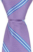"Class Club Gold Label Double Striped 14"" Tie"