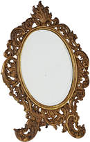 Rejuvenation Tabletop Beveled Mirror w/ Gilt Rococo Frame
