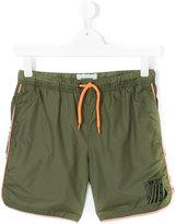 Vingino teen logo print swim shorts - kids - Polyamide/Polyester - 14 yrs