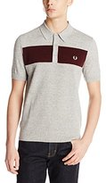 Fred Perry Men's Textured Yarn Knitted Shirt