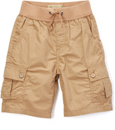 Lucky Brand Khaki Pull-On Shorts - Boys