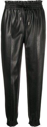 Ermanno Scervino Leather Look Trousers