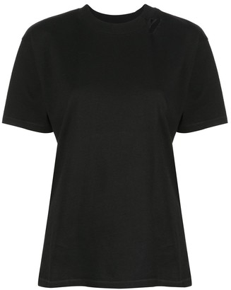 Anine Bing Milo cut-detail T-shirt